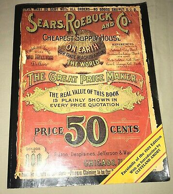 facsimile of 1902 edition SEARS ROEBUCK and CO CATALOG  softcover