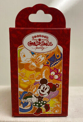 2019 Disney Parks Mickey's Very Merry Christmas Party Cookie Mystery Pin Box