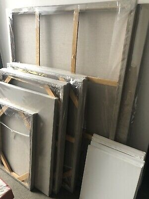 Blank Stretched Canvases