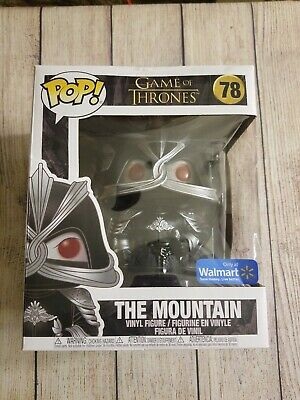 "Funko Pop The Mountain 6"" Walmart Exclusive. Game of Thrones. Box Damage See Pic"