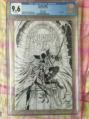 Spawn #300 Variant Cover N CGC 9.6 J. Scott Campbell Cover # 300 CGC 9.8