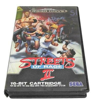 Street of Rage II Sega Mega Drive PAL *No Manual*