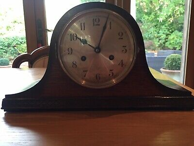 2 Napolean Hat Mantle Clocks With Pendulums