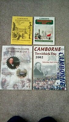 Trevithick Day 4 X Programmes 1999,2000,2001,2002 Excellent Condition.