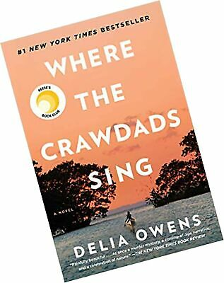 Where the Crawdads Sing Hardcover by Delia Owens Women's Friendship Fiction NEW