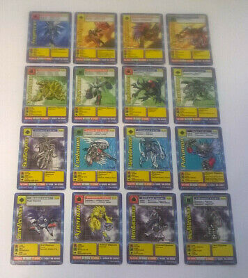 16 x DIGIMON Starter Set Cards ALL DIFFERENT