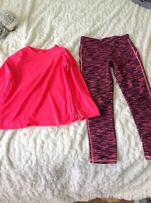 Running top and leggins age 8-9 years