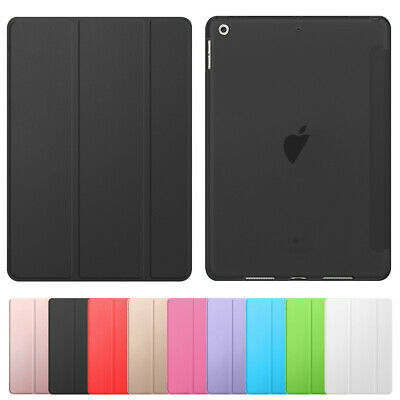 For Apple iPad 7th Gen 10.2 Inch 2019 Magnetic Slim Shell Translucent Smart Case