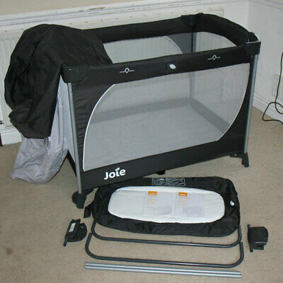 JOIE COMMUTER TRAVEL COT & CHANGE CHANGER with INSTRUCTIONS COMPLETE ETC