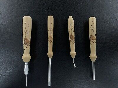 Matthew Hester Bobbin Lace Makers Tool Set With Swarovski Crystals Insets