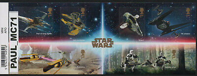 2019 Star Wars Apollo The Rise of Skywalker Mini Sheet With Barcode