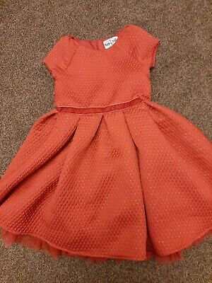 Part Red Dress Age 5 Dunnes Stores