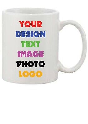 Custom Printed Personalised Mug Mugs with your own Text/Design/Image/Photo