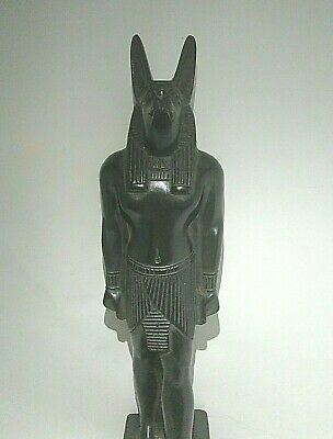 RARE ANTIQUE ANCIENT EGYPTIAN Statue God Anubis Grave Dead Underworld 1760 Bc