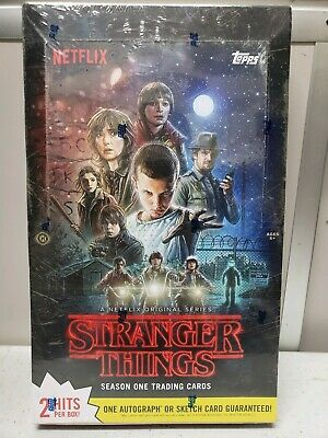 Stranger Things Season One Trading Cards Unopened Box Containing 24 Packs