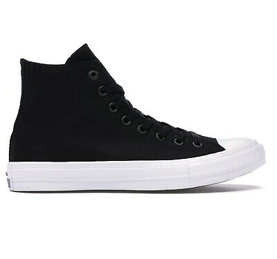 Converse Chuck Taylor All Star II 2 Hi Top Black Lunarlon 150143C Mens Sneakers