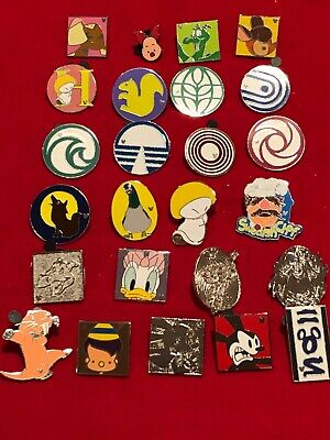 25 Disney pins Assorted Trading E  As Seen Lot x