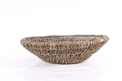 1x Old Rustic Plant Bowl Flowerpot Decor Old Vintage Container Bowl Farmer