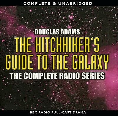 The Hitchhiker's Guide to the Galaxy: Complete Radio Series: Douglas Adams 13CDs