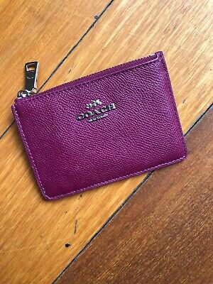 Coach Credit Card Case Holder Wallet