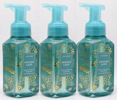 3 Bath & Body Works FROZEN LAKE Gentle Foaming Hand Soap