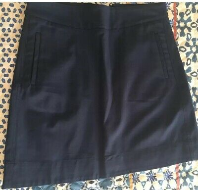 Marcs size 10 navy blue lined skirt. NWT