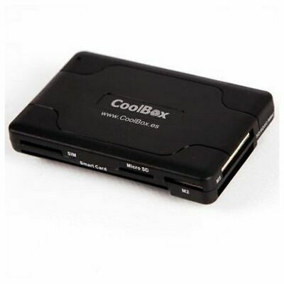 Smart Card Reader CoolBox CRE-065 USB 2.0 Black