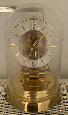 Antique Kundo Keininger & Obergfell Electronic Mantle Clock Dome Anniversary