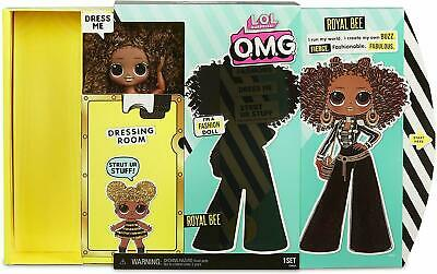 """LOL Surprise OMG Royal Bee 10"""" Fashion Doll Queen Bee's sister In Hand"""