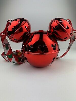 Disney Parks Mickey Mouse Jingle Bell Sipper Light Up Christmas Holiday 2019