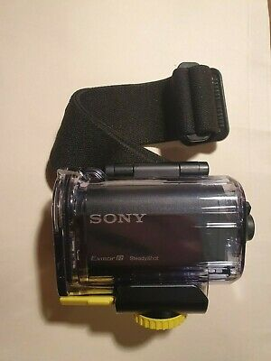 Sony Action Cam with Wi-Fi Bundle Camcorder - Black