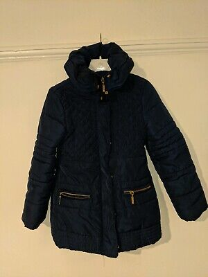 Mayoral Girls Outwear Coat - Navy - Age 8
