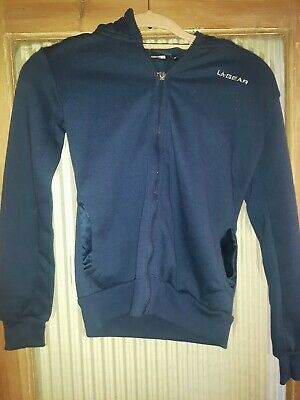 LA Gear Girls Hooded Sports Top Age 13 Years. Dark Blue