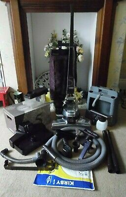 Kirby G5 Vacuum Cleaner With Caddy, Tools As Pictured, Spare Bags & Shampooer.