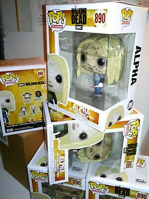 Funko Pop! *IN HAND* Tv : The Walking Dead - Alpha with Mask # 890 + FREE EcoTEK