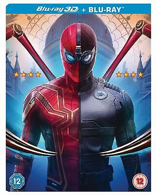 Spider-Man : Far From Home (3D Blu-ray + Blu-ray) + O-Ring Slipcase New & Sealed