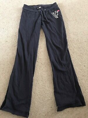 Girls tracksuit trousers/joggers Marks snd Spencer age 9-10 years, navy