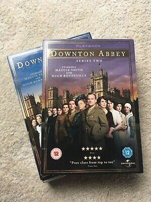 Downton Abbey Series 1 And 2 DVD Boxsets