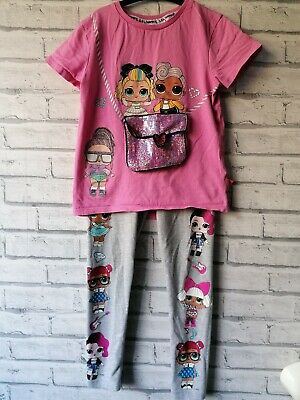 Lol Doll Surprise Outfit Tshirt And Leggings Character Girls Age 7-8