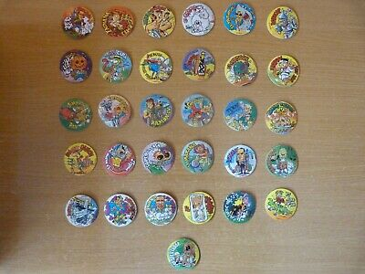 Lote - Tazos - Donettes - 31 Cromos Diferentes - Cine / Movies - 1996