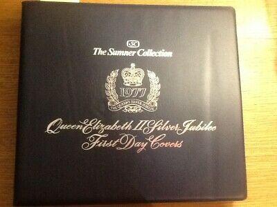 British Commonwealth Silver Jubilee Fdc Collection In Album Clean Collection