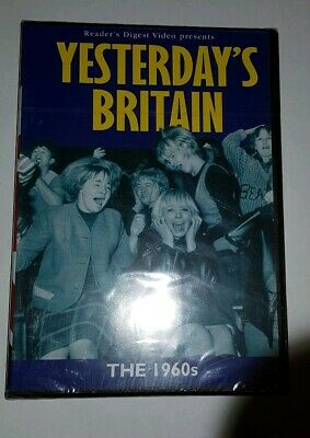 Yesterday's Britain - The 1960s (DVD) NEW & SEALED UK