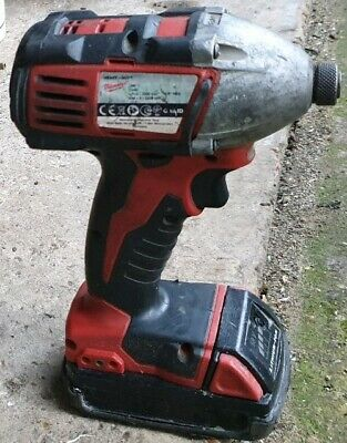 Milwaukee Heavy Duty Impact Driver C18 ID 18v