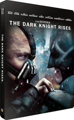 BATMAN THE DARK KNIGHT RISES Steelbook Blu Ray NEUF SOUS BLISTER