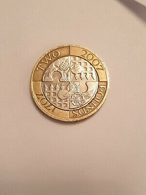 2007 £2 Act of Union Two Pound CIRCULATED Coin Uk