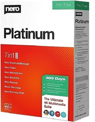 iNero Platinum 2020 Suite > Liftime > Download > Fast Delivery