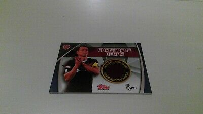 Topps Match Attax Scottish Spfl 2019/20 Rare Hearts Shirt Cards Player Worn