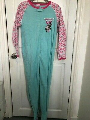 Primark Monkey Girls All In One Pyjamas Age 13