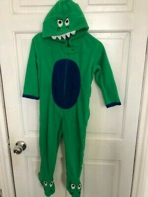 Primark Boys Girls All In One Sleepsuit Pyjamas Childrens Kids Dinosaur Costume