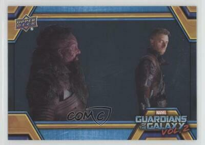 2017 Upper Deck Guardians of the Galaxy Volume 2 Silver Foil The Ravagers z6b